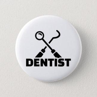 Dentist 2 Inch Round Button