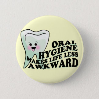 Dentist and Dental Hygienist Gifts 2 Inch Round Button
