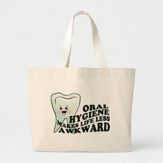 Dentist and Dental Hygienist Gifts Large Tote Bag