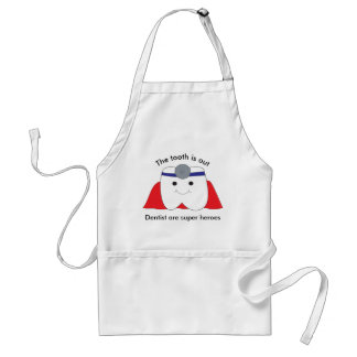 Dentist Are Super Heroes Customize Standard Apron