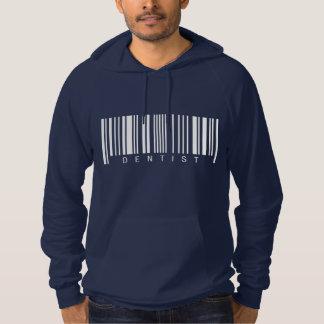 Dentist Barcode Hoodie