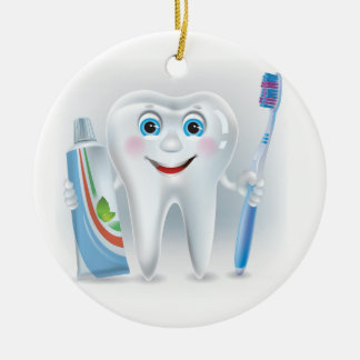 Dentist - Brush Your Teeth - SRF Ceramic Ornament