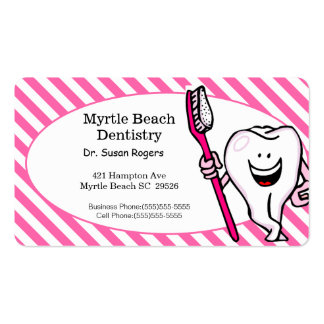 Dentist Business and Appointment Card Business Card