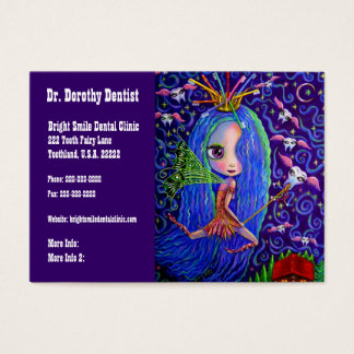 Dentist Business and Appointments Card Tooth Fairy