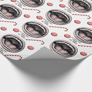 Dentist Christmas Wrapping Paper