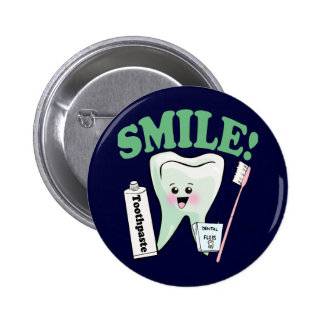 Dentist Dental Hygienist Button