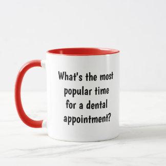 Dentist Gift Idea - Witty Funny Dentist Joke Pun Mug