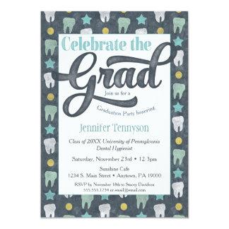 Dentist Graduation Invitation Dental Hygienist