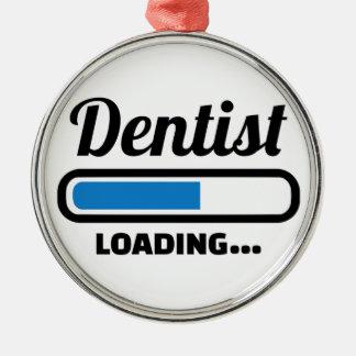 Dentist loading metal ornament