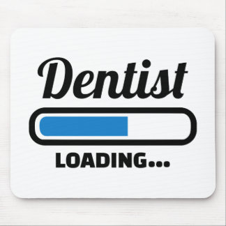 Dentist loading mouse pad