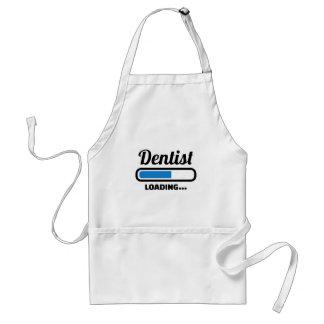 Dentist loading standard apron