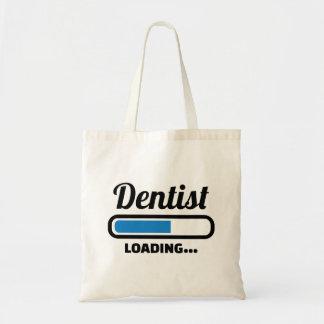 Dentist loading tote bag
