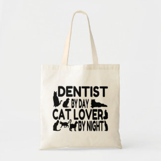 Dentist Loves Cats Tote Bag