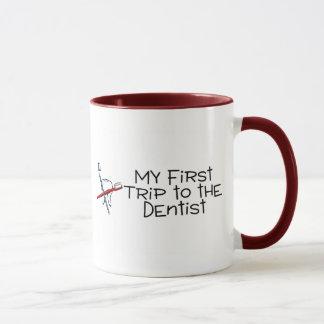 Dentist My First Trip To The Dentist Mug