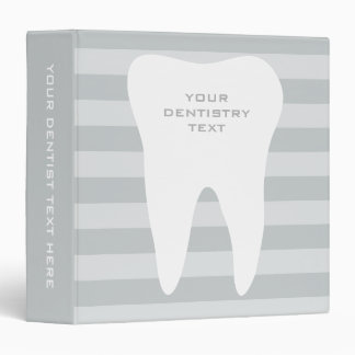 Dentist office binder for dentistry care clinic
