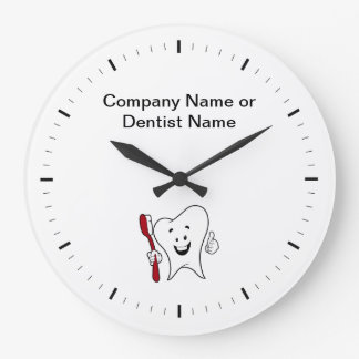 Dentist Office Company Logo Clocks