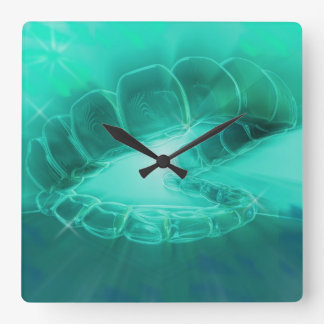 Dentist Orthodontist Open Mouth Wall Clock