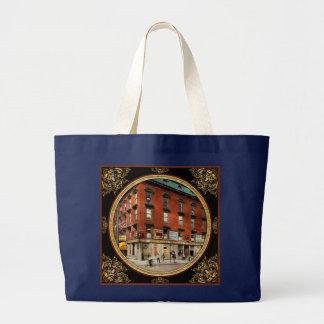 Dentist - Peerless Painless Dental Parlors 1910 Large Tote Bag