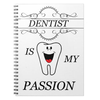 Dentist Spiral Notebook