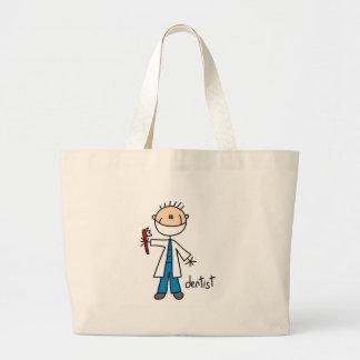 Dentist Stick Figure Bag