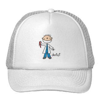 Dentist Stick Figure Hats
