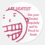 Dentist, sticker