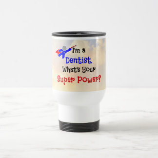 Dentist Superhero Travel Mug