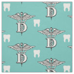 Dentist Symbol & Tooth Fabric
