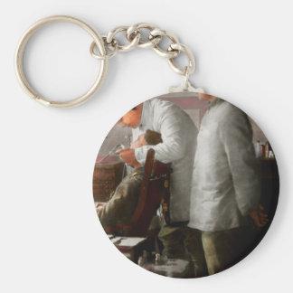 Dentist - The horrors of war 1917 Basic Round Button Keychain