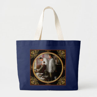 Dentist - The horrors of war 1917 Large Tote Bag