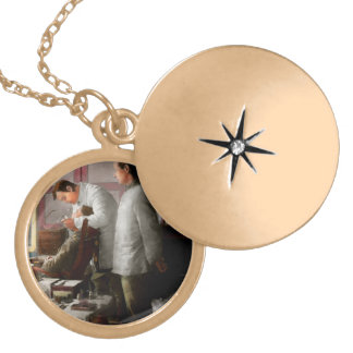 Dentist - The horrors of war 1917 Locket Necklace