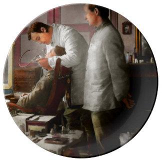 Dentist - The horrors of war 1917 Porcelain Plates