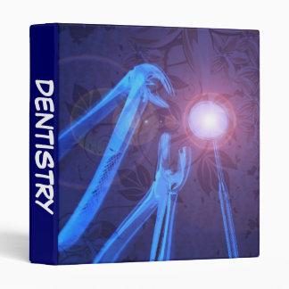 Dentistry Blue Instruments Dentist Office Supply Vinyl Binder
