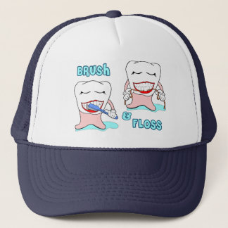 Dentists and dental hygienists humor trucker hat