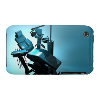 Dentist's chair, computer artwork. iPhone 3 Case-Mate case