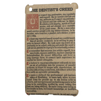Dentist's Creed Cover For The iPad Mini
