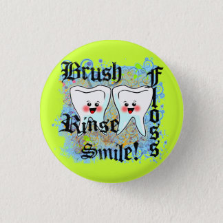 Dentists Dental Professionals 1 Inch Round Button