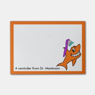 Dentist's Friendly Shark Memo Post-it Notes