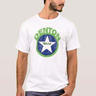 DENTON TEXAS - DISTRESSED T-Shirt