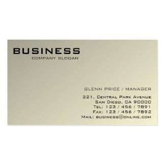 D'entreprise - cartes de visite carte de visite standard