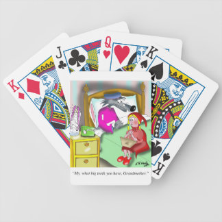 Denture Cartoon 9394 Bicycle Playing Cards