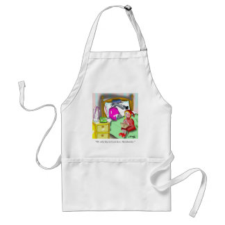 Denture Cartoon 9394 Standard Apron