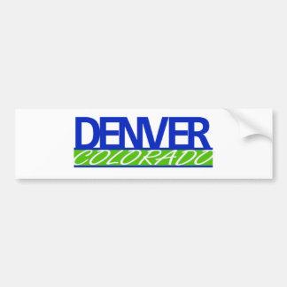 Denve Colorado Bumper Sticker