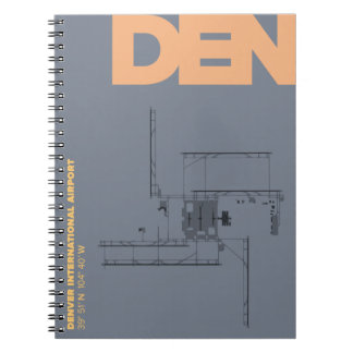 Denver Airport (DEN) Diagram Notebook