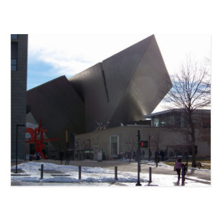 Denver Art Museum Postcard