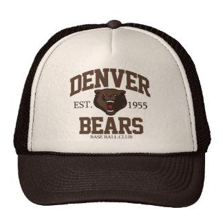 Denver Bears Trucker Hat
