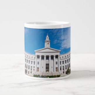 Denver City and County Building Entrance Large Coffee Mug