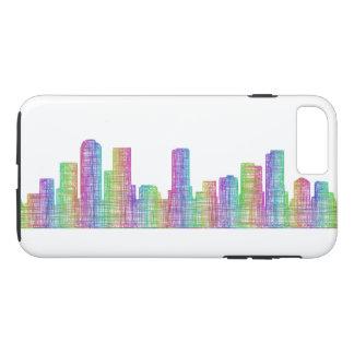 Denver city skyline iPhone 8 plus/7 plus case