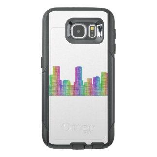 Denver city skyline OtterBox samsung galaxy s6 case