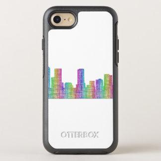 Denver city skyline OtterBox symmetry iPhone 8/7 case